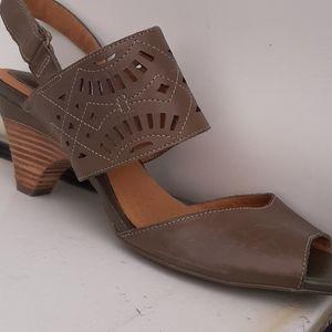 Clarks Leather Artisan Sandals